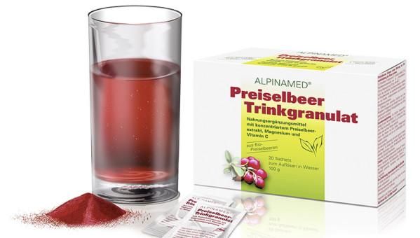Bitte einfach spülen_Trinkgranulat Preiselbeer