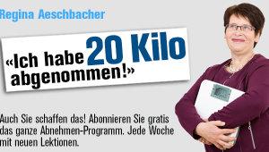Banner Aeschbacher Diät 20 kg 620 x 340 Pixel