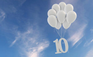 10 Gebote Urheber ink drop