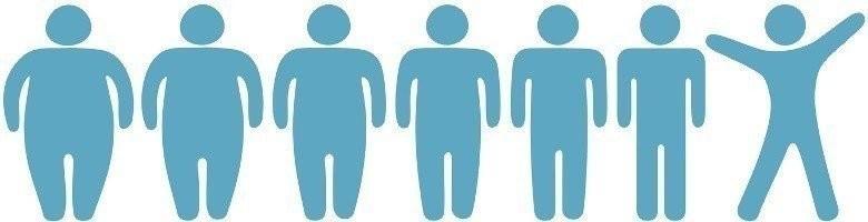 Dick zu schlank 1