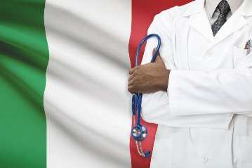 Concept of national healthcare system - Italy