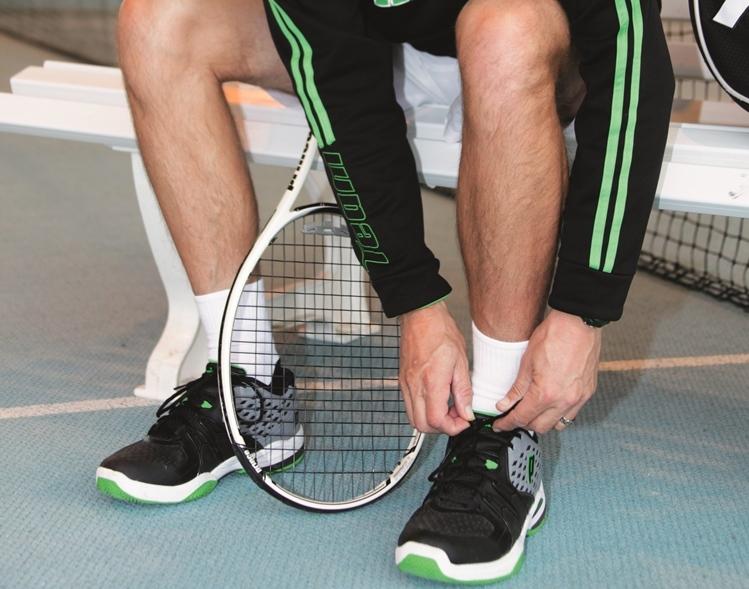 Venen Tennisspieler cut
