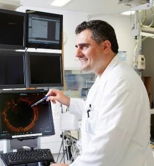 Dr. med. Florim Cuculi Funktion Leitender Arzt Abteilung Kardiologie