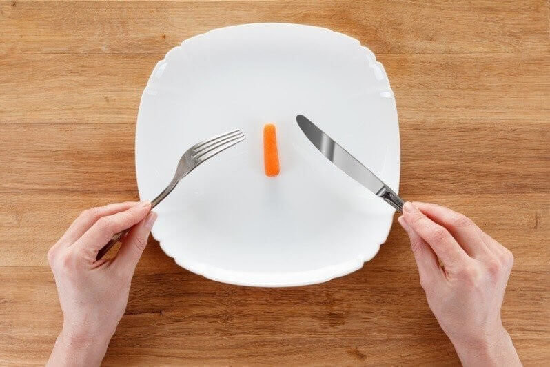 Concept of dieting, healthy eating