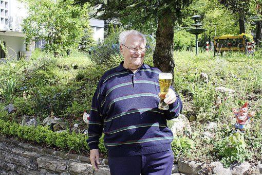 Zehnder mit Bier von 2014