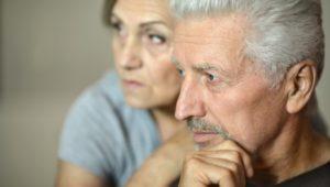 portrait of  senior couple