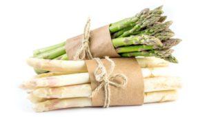 Saison Gemüse Spargel