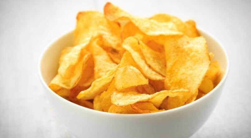Kartoffelchips - potato crisps