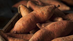 Raw Organic Sweet Potatoes