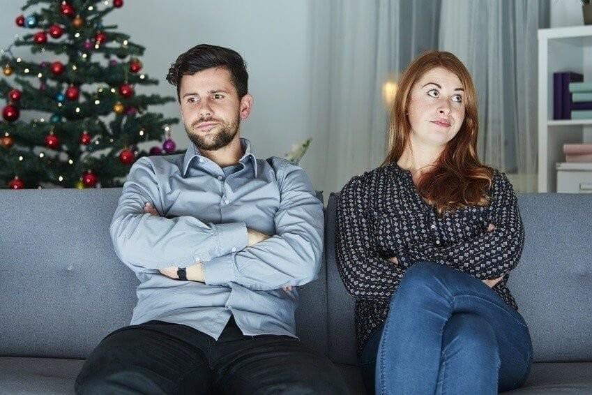 Weihnachten Streit