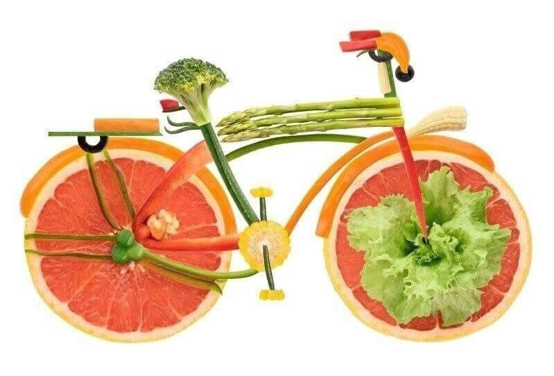 Veggie city bike.