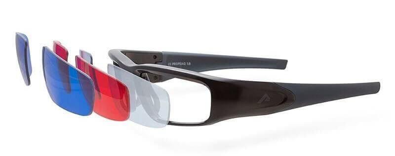 Lichtbrille cut