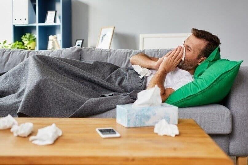 Grippe und Herzinfarkt