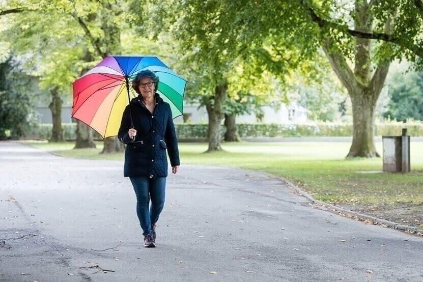 Madeleine Baumann Regenschirm