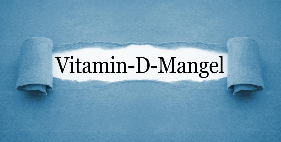 Vitamin-D-Mangel Mangelerscheinung