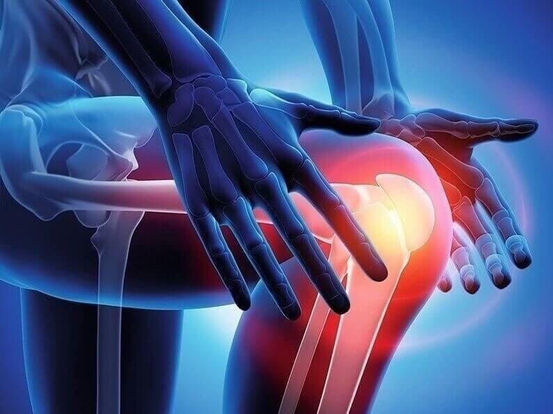 Schmerz im Kniegelenk 2