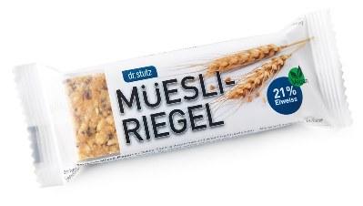 Müesli-Riegel neu Packshot