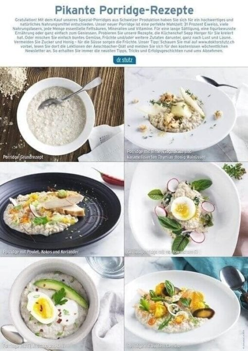 Porridge Rezepte