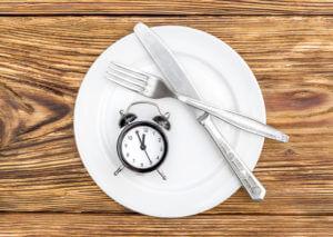1 Mal essen pro Tag