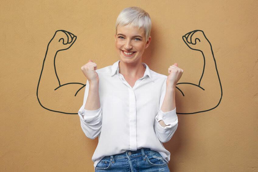 KreMag Muskel Frau