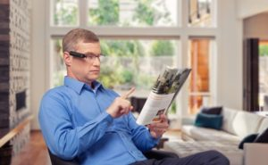 Sehhilfe bei Blindheit oder Sehbehinderung