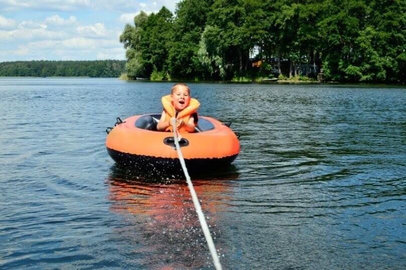 Schlauchboot Gefahren Rettungsweste