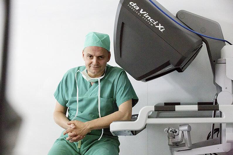 Urologie Prostataoperation