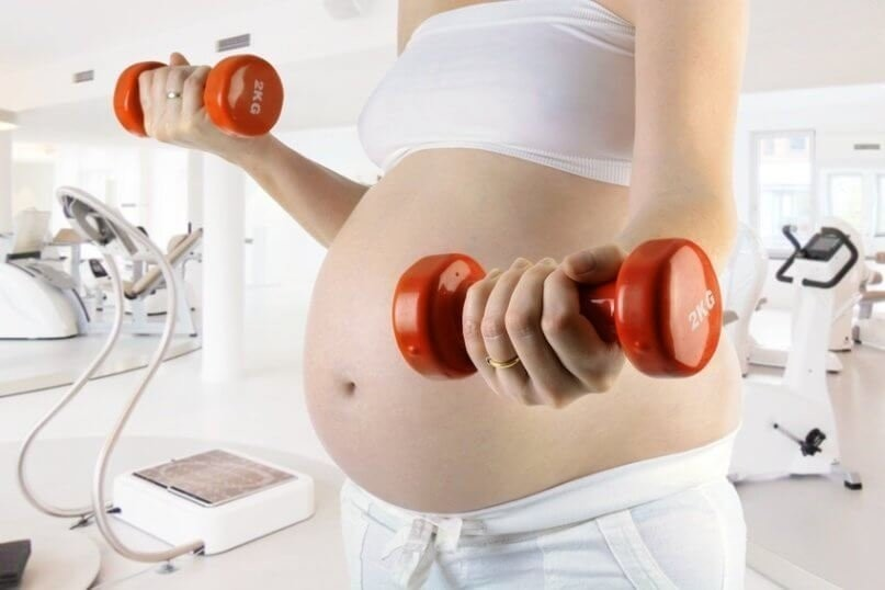 Krafttraining Schwangerschaft