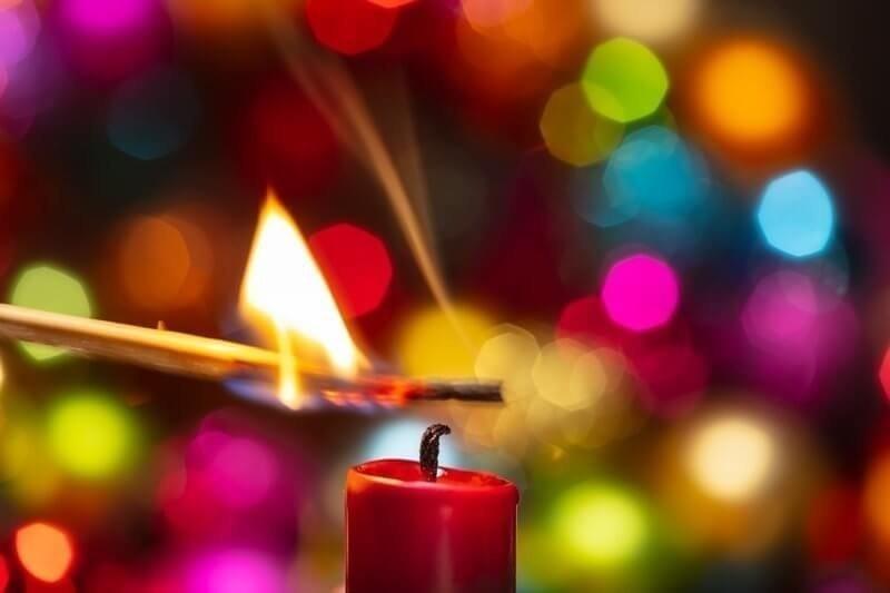 Brandgefahr Advent