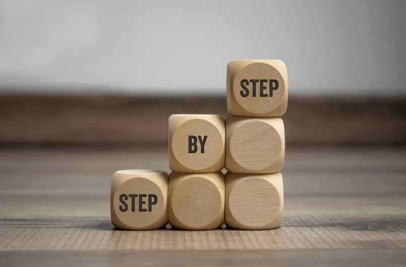 Kleine Schritte Bild AdobeStock 258711974 Urheber Stockwerk Fotodesign