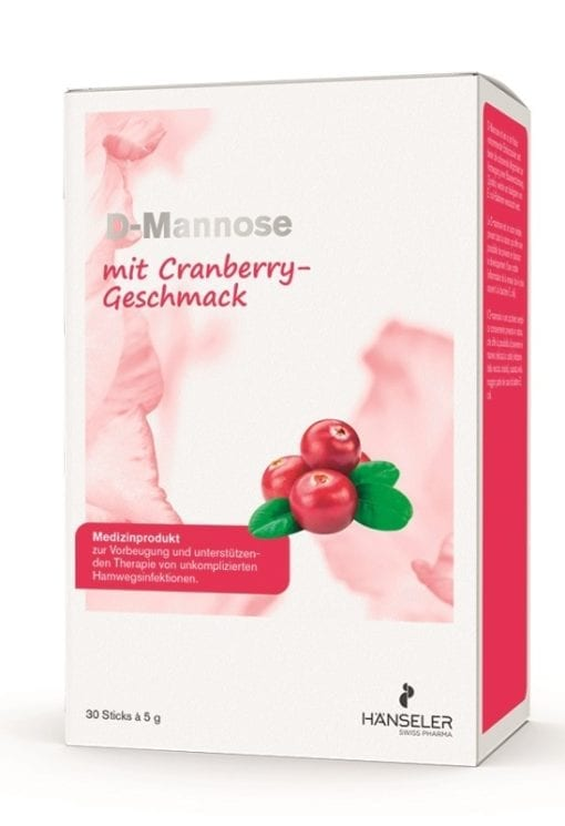 Hänseler Cranberry D Mannose