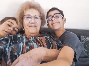 Trudy Gerber mit Jungs korr