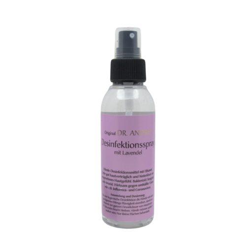 Desinfektionsspray mit Lavendel 125ml frei